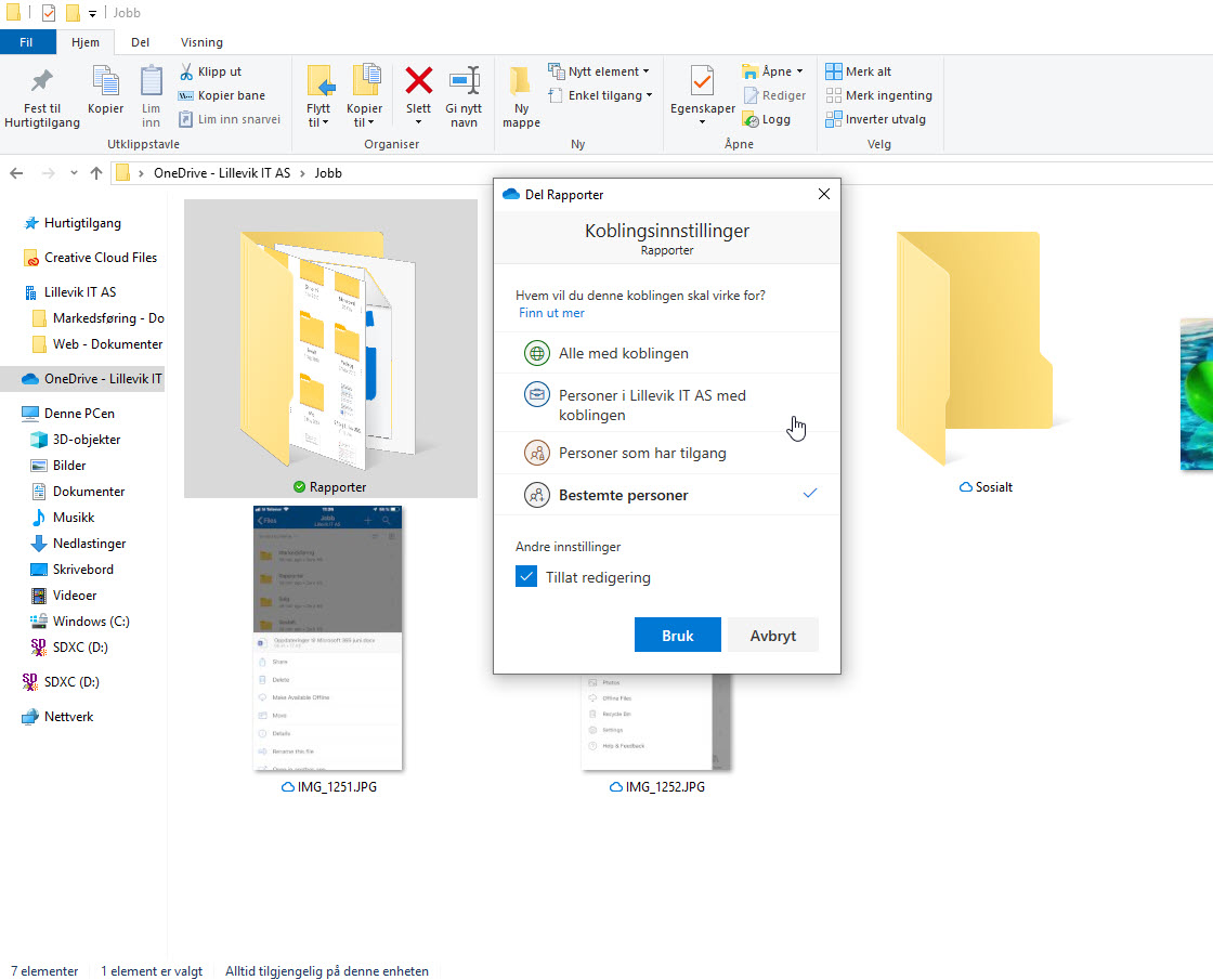 Onedrive synk 1